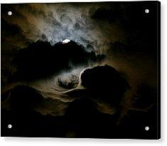 Dark Moon Mystery Acrylic Print