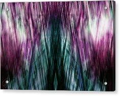 Dark Rain Acrylic Print
