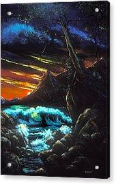 Dark Shores Acrylic Print