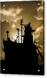 Dark Superstructure Acrylic Print