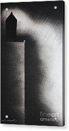 Darkness Shrouds My House Acrylic Print