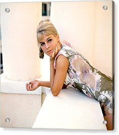 Darling, Julie Christie, 1965 Acrylic Print by Everett
