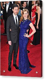 Darren Legallo, Amy Adams At Arrivals Acrylic Print by Everett