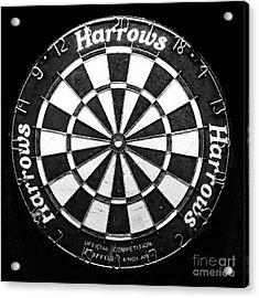 Dartboard Acrylic Print by Patricia Januszkiewicz