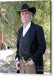 David Carradine Acrylic Print by Nina Prommer