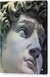 David Gay Superstar Acrylic Print by Paul Washington