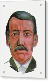 David Livingstone Acrylic Print by Emmanuel Baliyanga