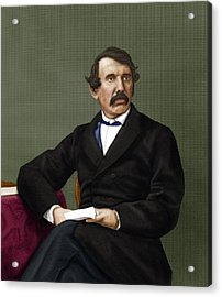 David Livingstone, Scottish Explorer Acrylic Print by Maria Platt-evans