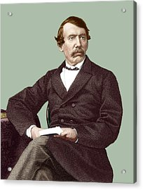 David Livingstone, Scottish Missionary Acrylic Print by Sheila Terry