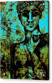 Acrylic Print featuring the painting David Ll by Amy Sorrell