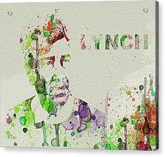 David Lynch Acrylic Print by Naxart Studio