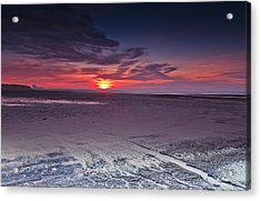 Dawn At Ardeer Acrylic Print by Fiona Messenger