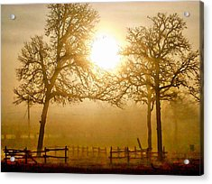Dawn In The Country Acrylic Print