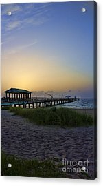 Acrylic Print featuring the photograph Dawn Is The Time by Anne Rodkin