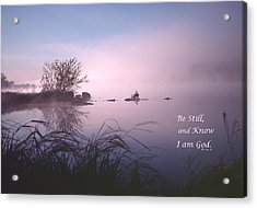 Dawn On The Chippewa River Acrylic Print