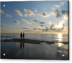 Acrylic Print featuring the photograph Dawn by Sheila Silverstein