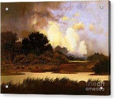 Dawn Sky Acrylic Print by Robert Foster