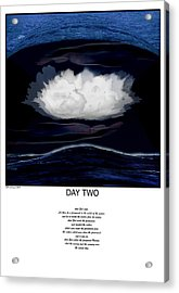 Day Two Acrylic Print by Fred Leavitt