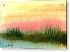 Daybreak Acrylic Print by Jan Deswik