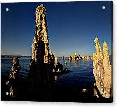 Daybreak On Mono Lake Acrylic Print by Joe Schofield