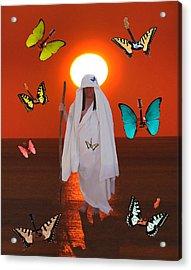 Daydreamer Acrylic Print by Eric Kempson