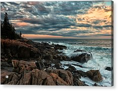 Day's End At Otter Point Acrylic Print