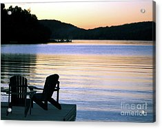 Day's End At The Lake Acrylic Print