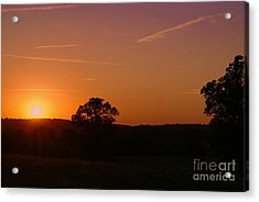 Acrylic Print featuring the photograph Day's Final Rays by Julie Clements