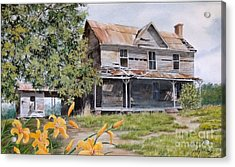 Days Gone By...sold Acrylic Print