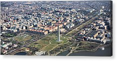Dc From Above Acrylic Print by JC Findley