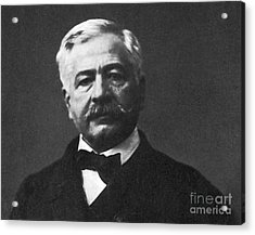 De Lesseps, French Diplomat, Suez Canal Acrylic Print by Photo Researchers