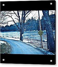 Dead End Acrylic Print