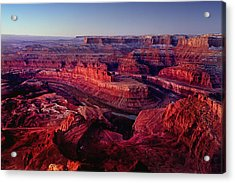 Dead Horse Point Acrylic Print by Wade Aiken