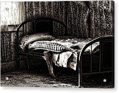 Dead Sleep Acrylic Print by Empty Wall