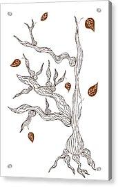 Dead Wood Acrylic Print by Frank Tschakert