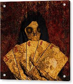 Deadmans Hand Acrylic Print