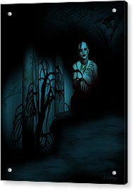Death Becomes Her Acrylic Print