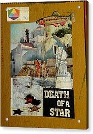 Death Of A Star Acrylic Print by Adam Kissel