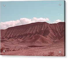 Death Valley Acrylic Print by Naxart Studio