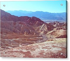 Death Valley Mountains 2 Acrylic Print