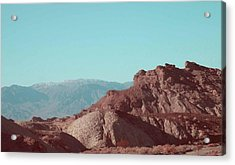 Death Valley Mountains Acrylic Print