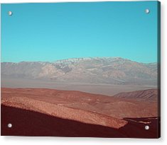 Death Valley View 3 Acrylic Print