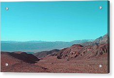 Death Valley View Acrylic Print by Naxart Studio