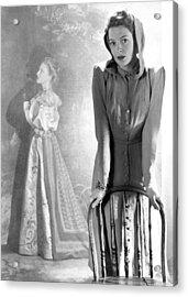Deborah Kerr, Circa 1940s Acrylic Print by Everett