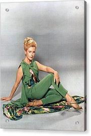 Deborah Kerr, Circa 1960s Acrylic Print by Everett
