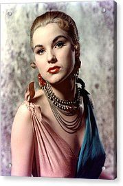 Debra Paget, Ca. Early 1950s Acrylic Print by Everett