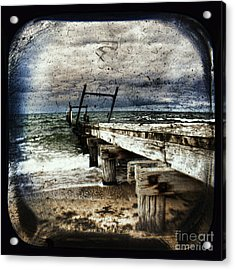 Deconstruction  Acrylic Print by Andrew Paranavitana