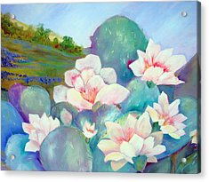 Acrylic Print featuring the painting Deep In The Heart Of Texas by AnnE Dentler