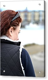 Deep In Thought Acrylic Print by Angel Chovanec