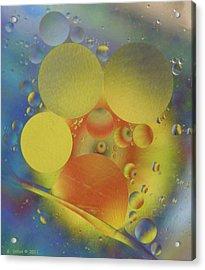 Deep Into Color Acrylic Print